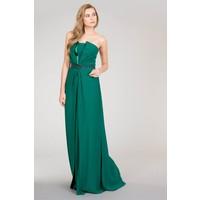GIZIA Kolsuz Yeşil Elbise