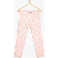 Koton Kız Çocuk Desenli Pantolon