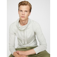 Koton Erkek Yüksek Yaka Sweatshirt