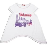 Karamela Kız Çocuk Getaway Baskılı T-Shirt