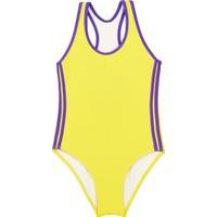 Bombi Kız Çocuk Yüzücü Mayo 194102 Sarı