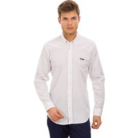 Galvanni Erkek Slim Fit Beyaz Gömlek - Bossier