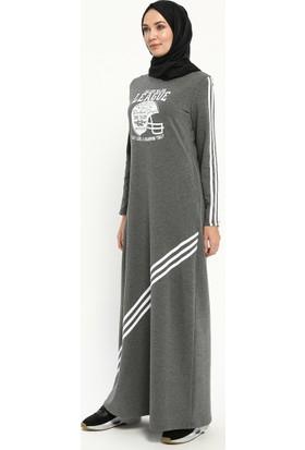 Spor Elbise - Füme - Ginezza