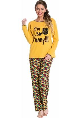 Lady Lingerie Bayan Pijama Takım 9239