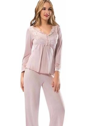 Sistina Bayan Penye Pijama Takım 1575