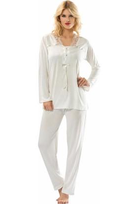 Sistina Bayan Penye Pijama Takım 1556