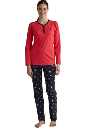 Mod 3082 Uzun Kol Kadın Pijama Takım
