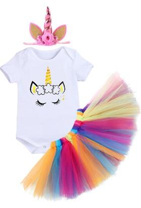 Bba New Trend Unicorn Taç Unicorn Tütü Etek