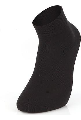 Mısırlı Modal Penye 6 Çift Erkek Çorap Kısa Dikişsiz 2019 Yaz Sezon Siyah