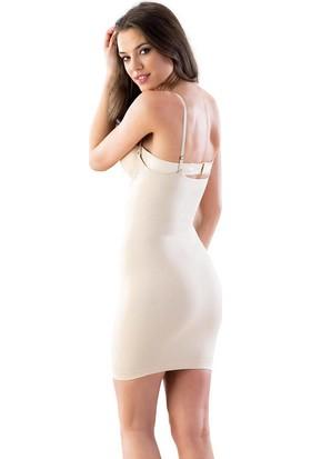 Emay Korse Göğsü Açık Elbise 5060