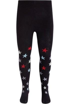 Tuc Tuc Kız Çocuk Yıldızlı Külotlu Çorap No Rules