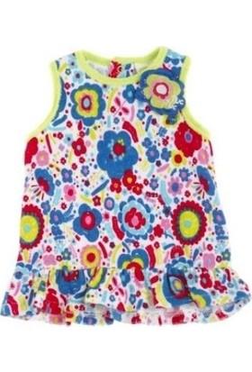 Tuc Tuc Kız Çocuk Çiçekli Havlu Elbise Let'S Paint