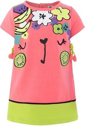 Tuc Tuc Kız Çocuk Kirazlı Elbise Fruit Festival