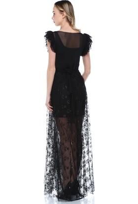 Quincey Dantel-Tül Elbise