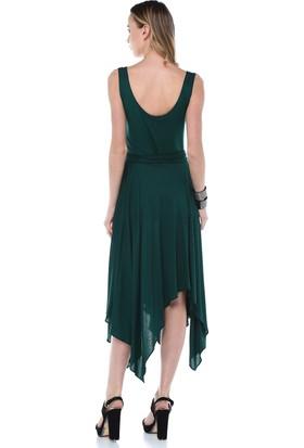 Quincey Asimetrik Elbise