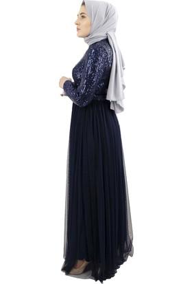 Arda New Line Kadın Lacivert Abiye 6502166-10.02