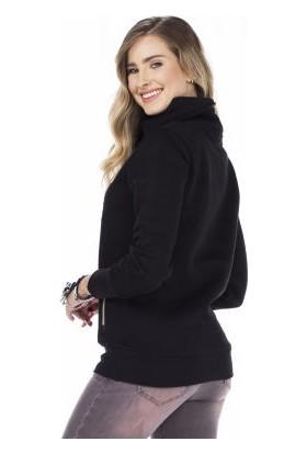 Cipo&Baxx WL176 Legendry Baskılı Uzun Boğazlı Kadın Sweatshirt