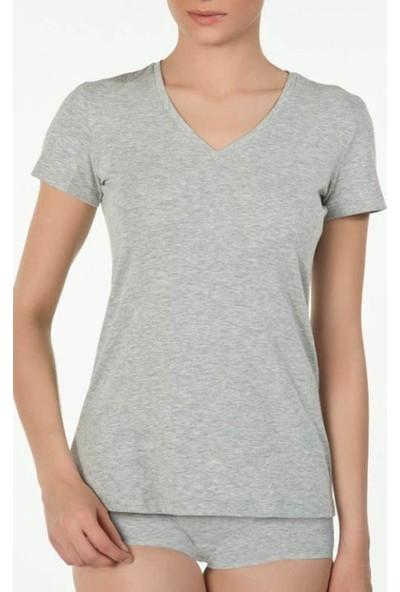 Kom Basic V Yaka T-Shirt 41BA50021