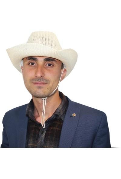 Art Gold Günlük Kullanımda İdeal Beyaz Tatil Şapkası
