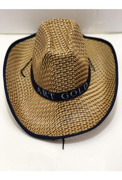 Art Gold Günlük Kullanımda İdeal Lacivert Tatil Şapkası