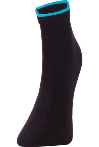 The Don Kadın Çorap Siyah Mavi