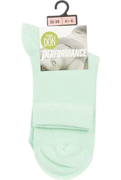 The Don Bambu Kadın Çorap Yeşil