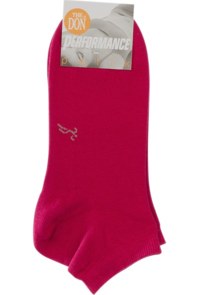 The Don Kadın Patik Çorap Bordo