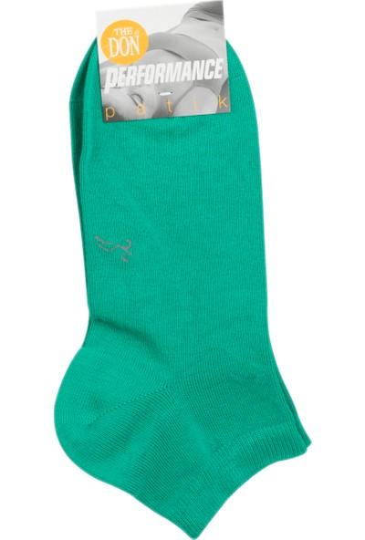The Don Kadın Patik Çorap Yeşil