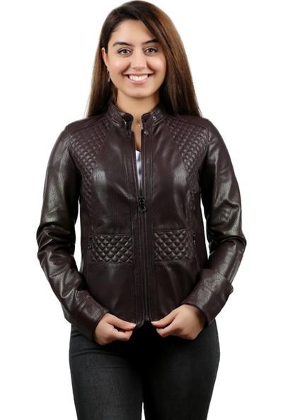 Franko Armondi Vegas Kadın Deri Ceket