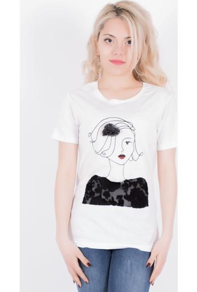 Sam Toni Girl Beyaz T-Shirt