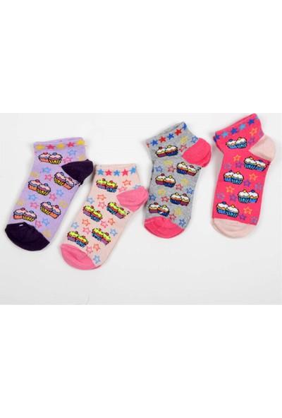 Pemilo Çocuk Karma 10 Adet Renkli Desenli Çorap 15 TL