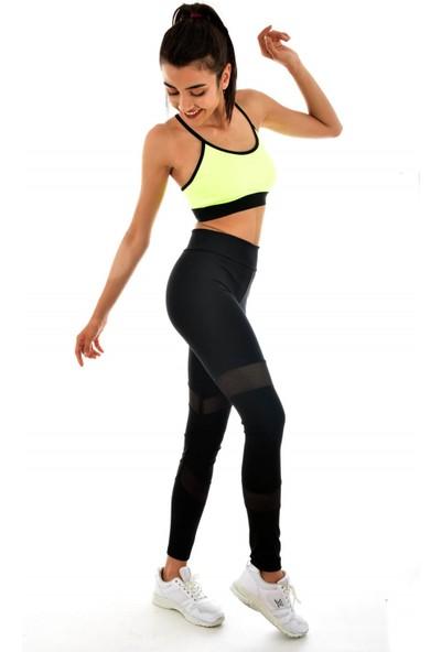 Wotto Fitness Tayt Siyah