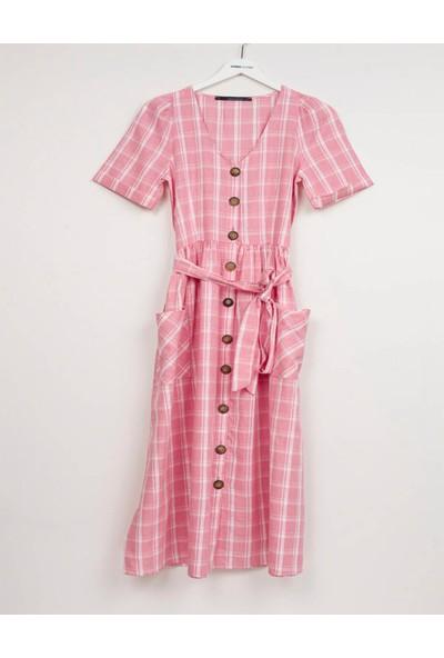 Coten Concept Kadın Geniş Cepli Elbise