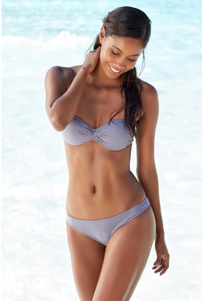 Ebru Şallı Straplez Dolgulu Bikini 40 Beden Bikini