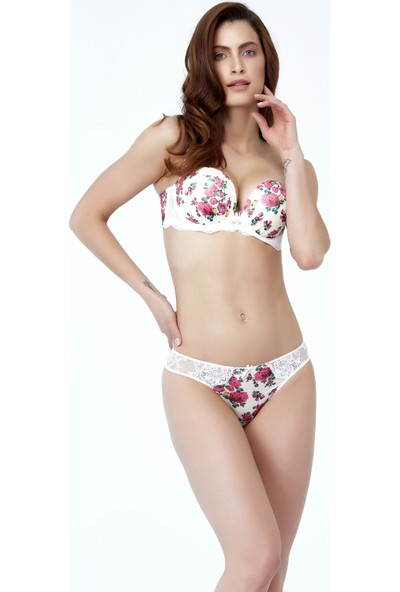 Golshan Gardenia Balconette Push Up Sütyen