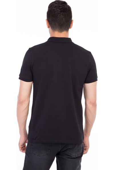 Kiğılı Polo Yaka Klasik Regular Fit T-Shirt