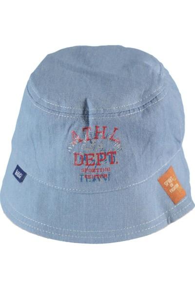 Kitti Erkek Çocuk Şapka 4 - 8 Yaş Mavi