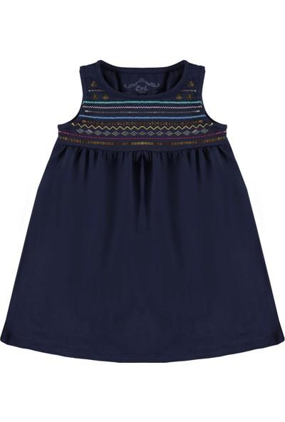 Cvl Kız Çocuk Elbise 2 - 5 Yaş Lacivert