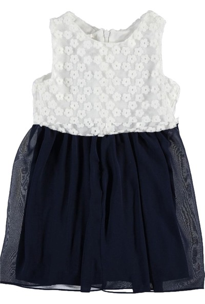 Civil Girls Kız Çocuk Elbise 2 - 5 Yaş Lacivert