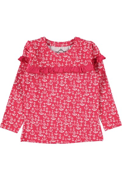 Cvl Kız Çocuk Sweatshirt Narçiçeği