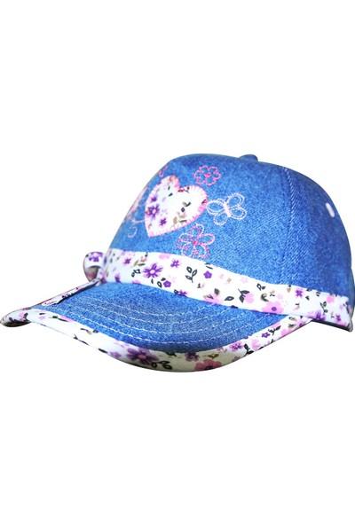 Tidi Kız Çocuk Kep Şapka Lila