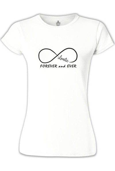 Lord T-Shirt Demi Lovato - Forever and Ever Kadın T-Shirt