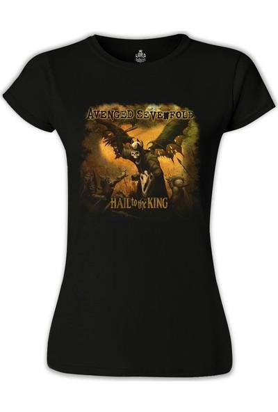 Lord T-Shirt Avenged Sevenfold - Hail to the King Siyah Kadın T-Shirt