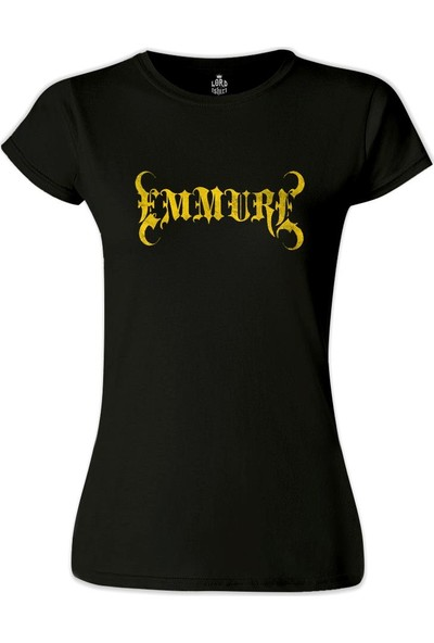 Lord T-Shirt Emmure - Felony Siyah Kadın T-Shirt