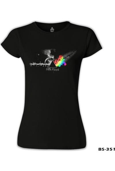 Lord T-Shirt Pink Floyd - In Clouds Siyah Kadın T-Shirt