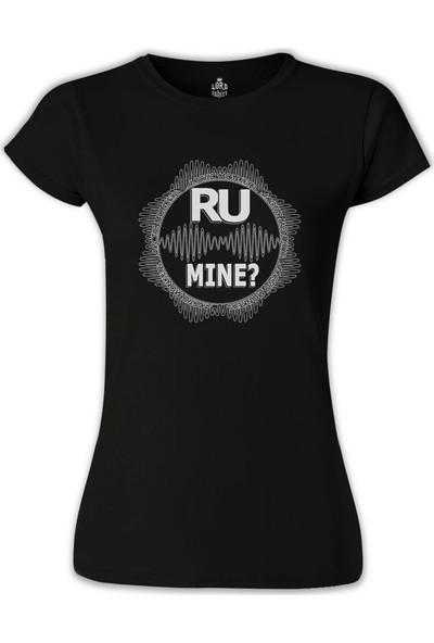 Lord T-Shirt Arctic Monkeys - R U Mine ? Siyah Kadın T-Shirt