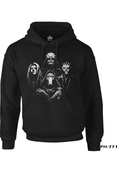 Lord T-Shirt Star Wars - Kings Siyah Erkek Sweatshirt