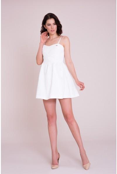 GIZIA Beyaz Mini Elbise