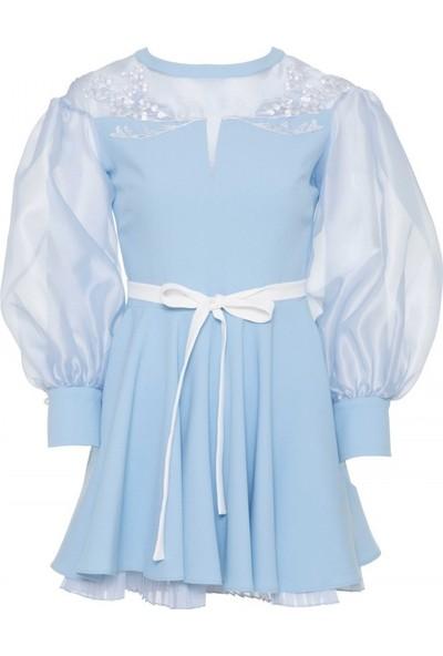 GIZIA Organze Mini Elbise