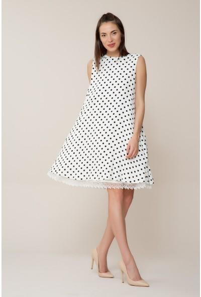 GIZIA Puantiyeli Mini Elbise